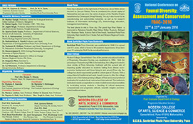 National Conference on, Faunal Diversity: Assessment and Conservation