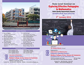 State Level Seminar on Exploring Effective Pedagogies in Mathematics